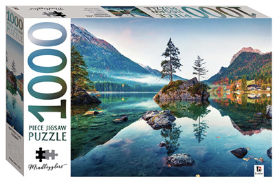 Hinkler 1000 Piece Jigsaw Puzzle: Hintersee Lake, Germany
