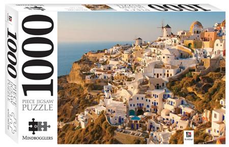 Hinkler 1000 Piece Jigsaw Puzzle: Santorini  Greece