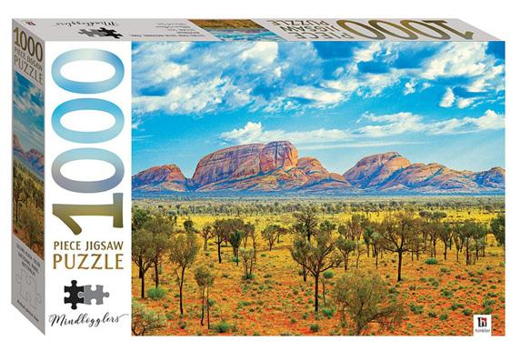 Hinkler 1000 piece jigsaw puzzle Uluru Australia buy at www.puzzlesnz.co.nz