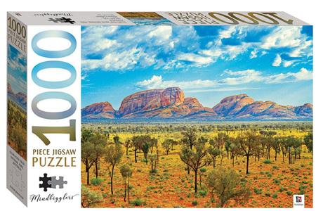 Hinkler 1000 Piece Jigsaw Puzzle: Uluru-Kata Tjuta National Park Australia