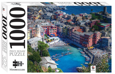 Hinkler 1000 Piece Jigsaw Puzzle: Vernazza Liguria Italy