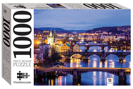 Hinkler 1000 Piece Jigsaw Puzzle: Vltava River Prague