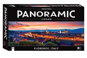 Hinkler Mindboggler 1000 Piece Panorama Jigsaw Puzzle: Florence Italy