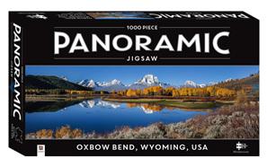 Hinkler Mindboggler 1000 Piece Panorama Jigsaw Puzzle: Oxbow Bend Wyoming