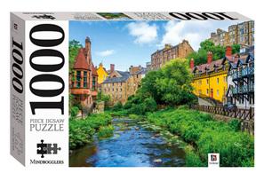 Hinkler Mindboggler 1000 Piece Jigsaw Puzzle: Dean Village Edinburgh Scotland