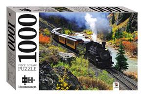 Hinkler Mindboggler 1000 Piece Jigsaw Puzzle: Durango & Silverton Railroad, Colorado, USA