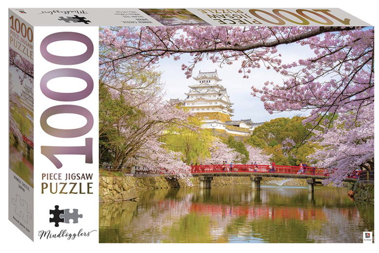 Hinkler 1000 Piece  Puzzle:  Himeji Castle, Japan buy at www.puzzlesnz.co.nz
