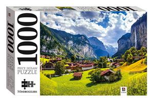 Hinkler Mindboggler 1000 Piece Jigsaw Puzzle: Lauterbrunnen Switzerland