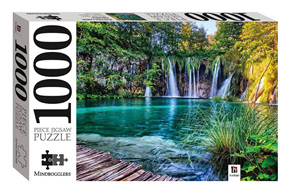 Hinkler Mindboggler 1000 Piece Jigsaw Puzzle: Plitvice Lake and Waterfalls, Croatia