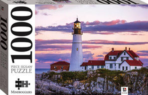 Hinkler Mindboggler 1000 Piece Jigsaw Puzzle: Portland Head Light, USA