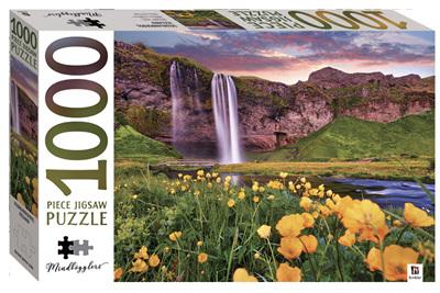 Hinkler 1000 Piece Jigsaw Puzzle:  Seljalandsfoss, Iceland