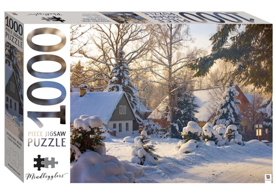 Hinkler 1000 piece puzzle Spindleruv Mlyn, Czech Republic at www.puzzlesnz.co.nz