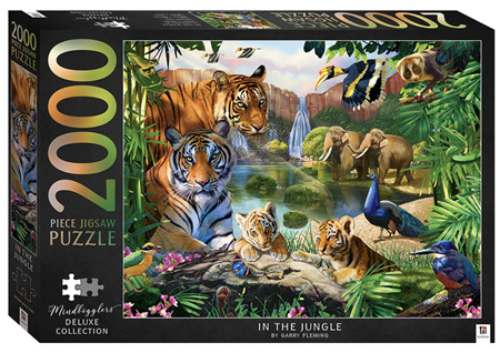 Hinkler 2000 Piece Jigsaw Puzzle: In The Jungle