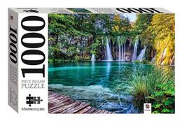 Hinkler Mindboggler 1000 Piece Jigsaw Puzzle: Plitvice Lake and Waterfalls, Croatia