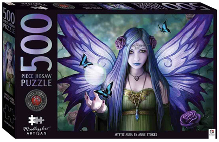 Hinkler Mindbogglers Artisan 500 Piece Jigsaw Puzzle: Mystic Aura