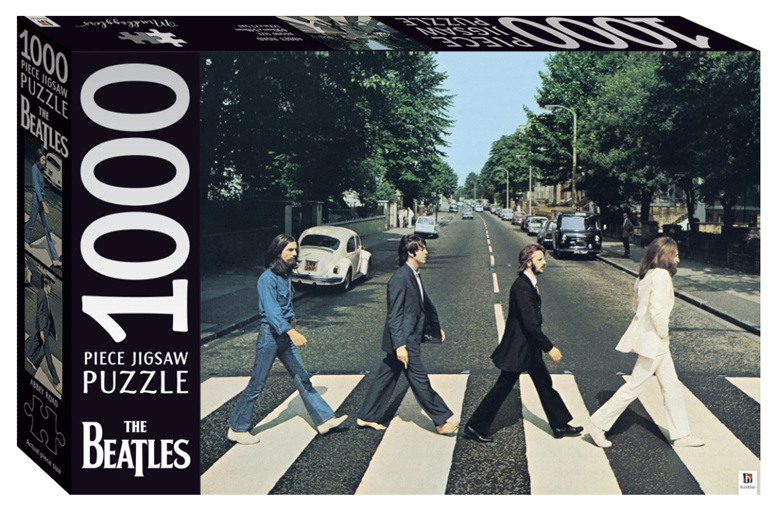 Hinkler The Beatles 1000 Piece Puzzle: Abbey Road www.puzzlesnz.co.nz