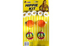 Hippie dress up kit