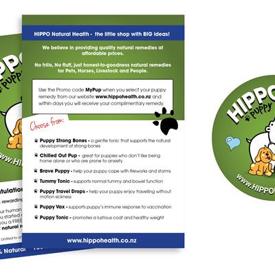 Hippo Puppy Flyer