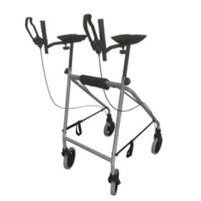 HIRE EASY WALKER / WALKING TUTOR / FOREARM SUPPORT FRAME WITH WHEELS & SKIS 1 WEEK