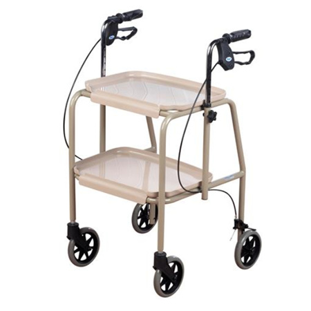 HIRE TRAY WALKER WITH BRAKES ADJUSTABLE HEIGHT ASPIRE 1 WEEK