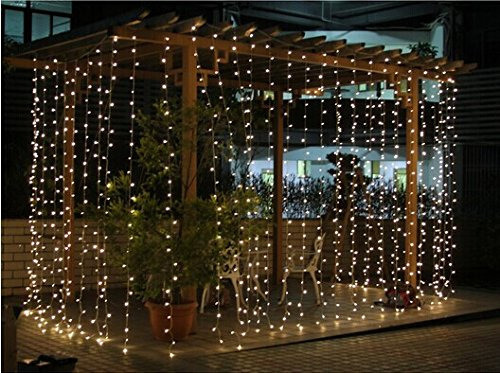 Hiring outdoor indoor 3x3m connectable curtain lights warm white connectable 3x3m rubber cable outdoor curtain lights warm white aloadofball Images
