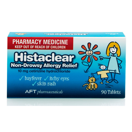 Histaclear Tablets 90s