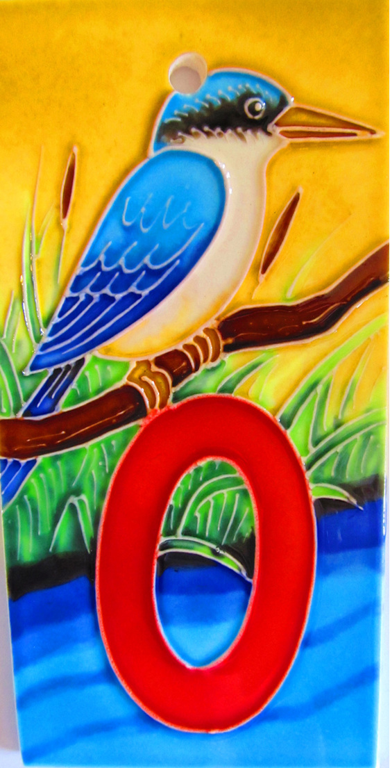 HN0 Number  '0'. kingfisher