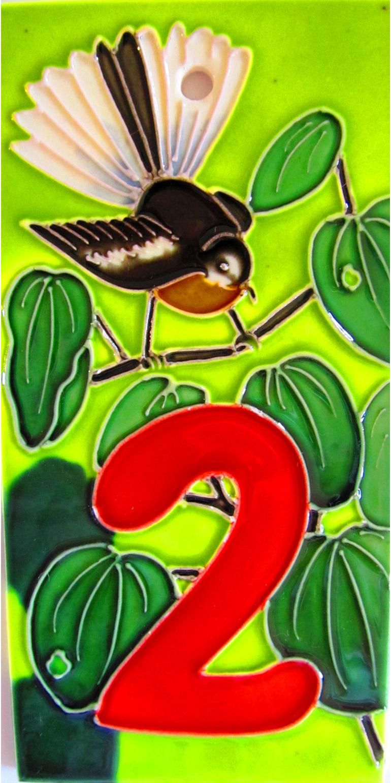 HN2 Number '2' New Zealand Fantail