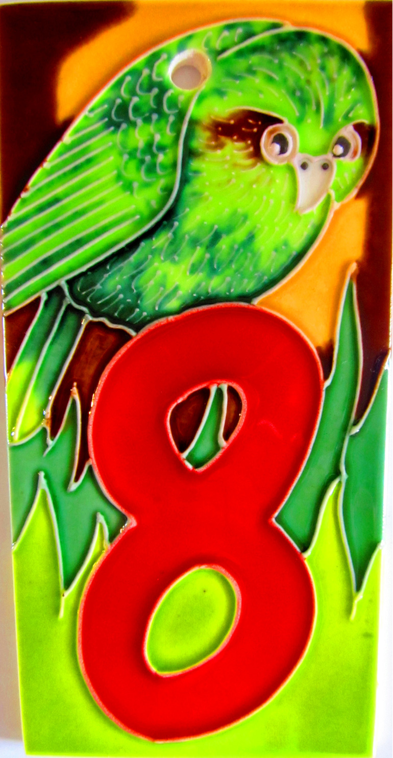 HN8 Number '8' kakapo
