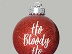 Ho Bloody Ho Christmas ornament