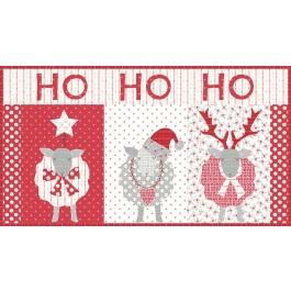 Ho Ho Ho Mini Quilt