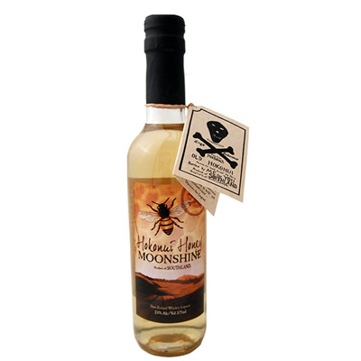 Hokonui Honey Moonshine Liqueur 375ml