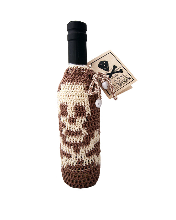 Hokonui Moonshine Crochet Bottle Cover