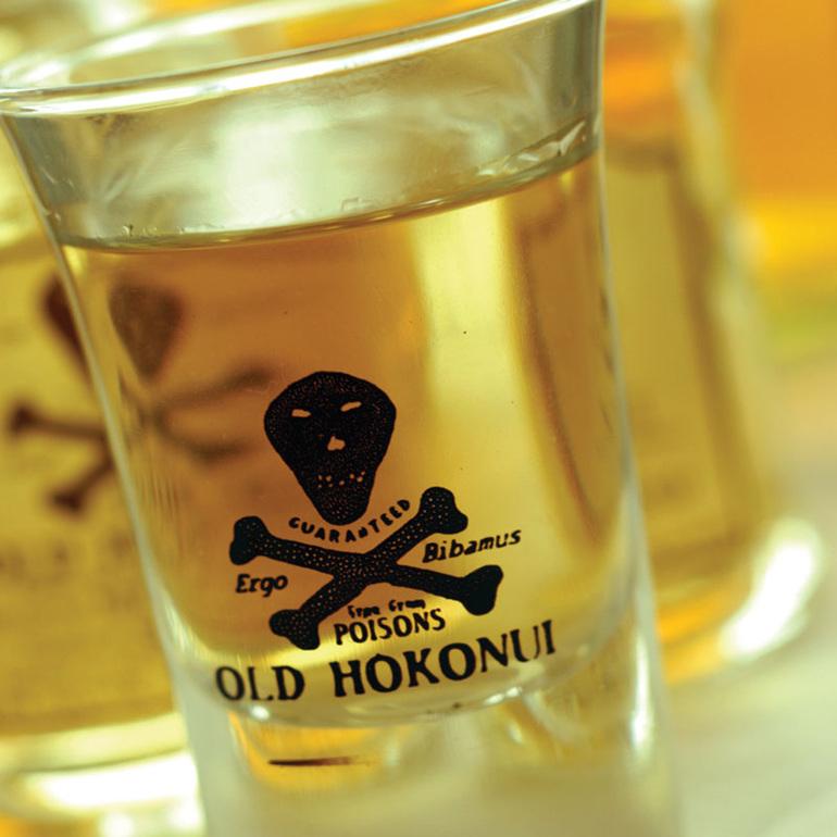 Hokonui Moonshine Shot Glass