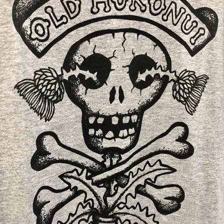 Hokonui Moonshine T-Shirt Grey Male by Reg Mombassa