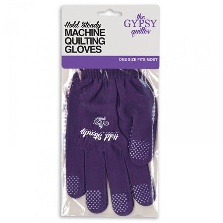 Hold Steady Machine Quilting Gloves from The Gypsy Quilter