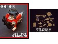 HOLDEN 308 253 V8 ENGINE KIT 1/24 1/25 SCALE