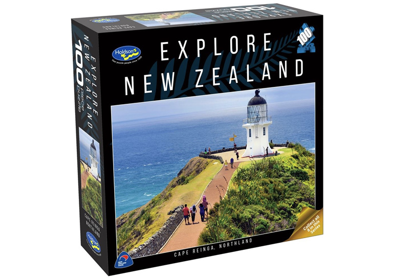 Holdson 100 piece jigsaw puzzle Cape Reinga buy at www.puzzlesnz.co.nz