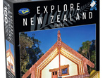 Holdson 100 piece jigsaw puzzle Whare Runanga buy at www.puzzlesnz.co.nz