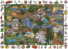 Holdson 100 Piece Jigsaw Puzzle: Getting Away From It All