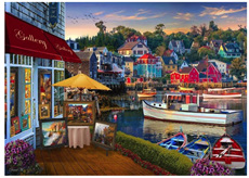 Holdson 1000 Piece Jigsaw Puzzle:  A Harbour Gallery
