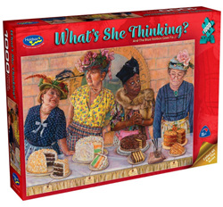 Holdson 1000 Piece Jigsaw Puzzle: And The Blue Ribbon Goes To.......