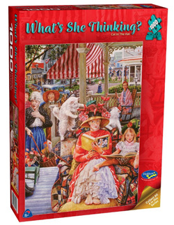 Holdson 1000 Piece Jigsaw Puzzle: Cat In The Hat