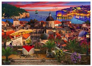Holdson 1000 Piece Jigsaw Puzzle: Dubrovnik Croatia