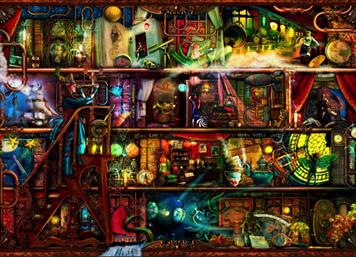 Holdson 1000 Piece Jigsaw Puzzle: Fantastic Voyage