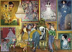 Holdson 1000 Piece Jigsaw Puzzle:  Gustav Klimt Gallery