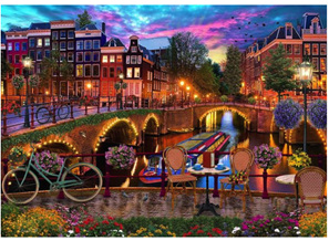Holdson 1000 Piece Jigsaw Puzzle: Holland Bridges