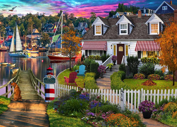 Holdson 1000 Piece Jigsaw Puzzle: Home Sweet Home 2: Charles Harbour