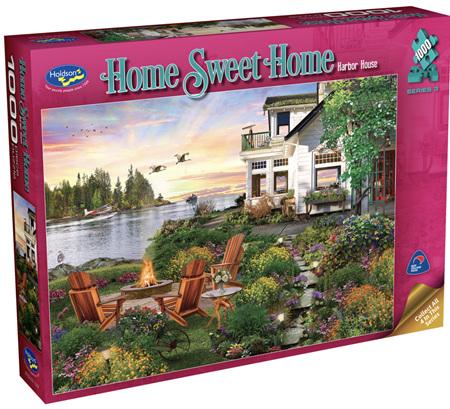 Holdson 1000 Piece Jigsaw Puzzle: Home Sweet Home S3 - Harbour House