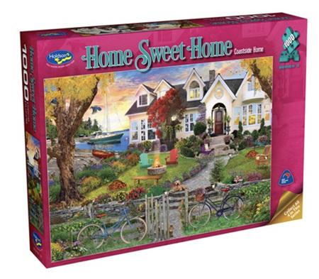 Holdson 1000 Piece Jigsaw Puzzle: Home Sweet Home S3 - Coastside Home